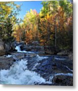 maine 38 Baxter State Park South Branch Stream Metal Print