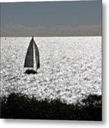 maine 44 Sailboat Metal Print