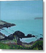 Maine Coast 1 Metal Print