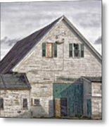Maine Farm Barn Metal Print