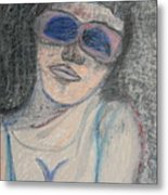 Maine Woman Metal Print