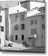 Maisons Sur Le Bord De La Mer A Saint - Tropez Metal Print