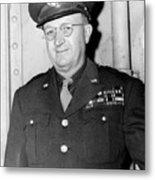 Maj. Gen. Manton Eddy. May 25, 1945. Metal Print