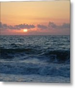 Majestic Atlantic Sunrise Metal Print