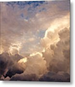 Majestic Clouds Metal Print