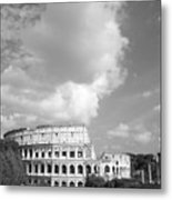 Majestic Colosseum Metal Print