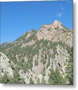 Majestic Eldorado Mountain Metal Print