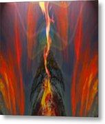 Majestic Fire Metal Print