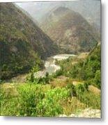 Majestic Himalayas Metal Print