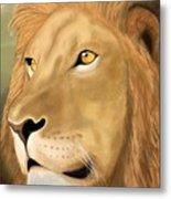 Majestic Lion Metal Print