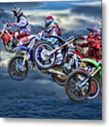 Majestic Motors Metal Print