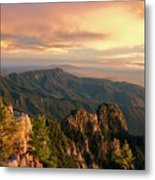 Majestic Mountain View Metal Print