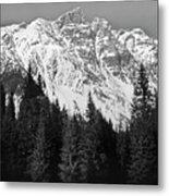 Majestic Mountains, British Columbia, Canada Metal Print