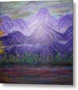 Majestic  Mountains Metal Print