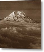 Majestic Mt. Rainier Metal Print