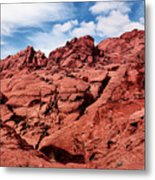 Majestic Red Rocks Metal Print