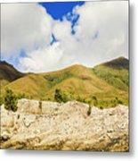 Majestic Rugged Australia Landscape  Metal Print