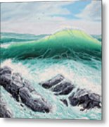 Majestic Sea Metal Print
