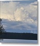Majestic Storm Clouds  Metal Print