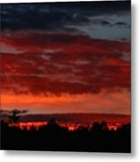 Majestic Sunset 2 Metal Print