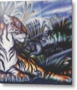 Majestic Tiger Metal Print