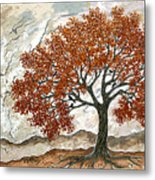 Majestic Tree Metal Print