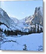 Majestic Winter Landscape Metal Print