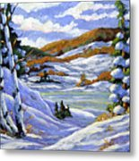 Majestic Winter  Metal Print