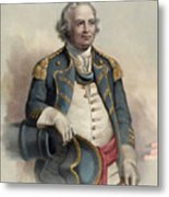 Major General Israel Putnam Metal Print