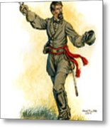 Major General Patrick R. Cleburne Metal Print