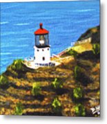 Makapuu Lighthouse #78, Metal Print