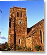 Maui Hawaii Makawao Union Church II Metal Print