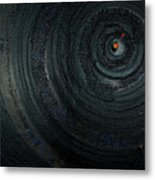 Make A Good Catch - Ecological Disaster  - Drilling Permit - Offshore - Energy - Crude - Petri Heil Metal Print by Urft Valley Art