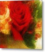 Make Mine Roses Please Too Metal Print