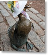 Make Way For Ducklings Metal Print