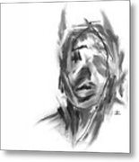 Making Marks And Coaxing Emotions 2 Metal Print