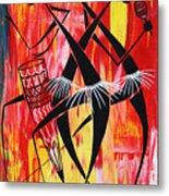 Makonde Dance Series Metal Print