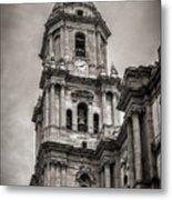 Malaga Cathedral Metal Print