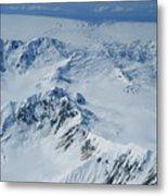 Malaspina Glacier Metal Print
