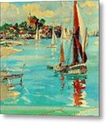 Maldon, England, Sailing Boats Metal Print