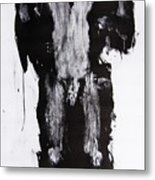 Male Nude Front Metal Print