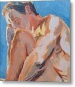 Male Nude Painting Metal Print