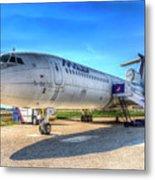 Malev Airlines Tupolev Tu-154 Metal Print