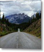 Maligne Lake Road Jasper National Park Metal Print