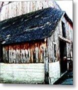Mallard Barn Metal Print