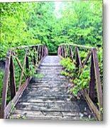 Mallory Bridge Metal Print