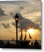 Mallory Square Key West Metal Print