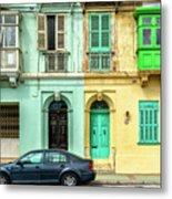 Maltase Style Doors And Windows  Metal Print