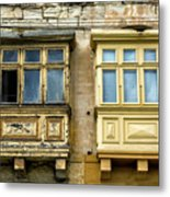 Maltase Style Windows  Metal Print