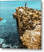 Maltese Dream Metal Print